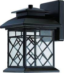 0-021624>11 inchh Woodmere LED Outdoor Wall Lantern Oil Rubbed Bronze