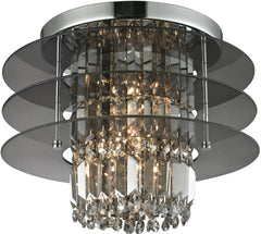 0-024177>16 inchw 3-Light Semi Flush Brushed Nickel