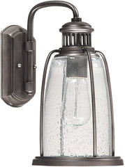 0-021615>13 inchh Harbour 1-Light Outdoor Wall Lantern Graphite