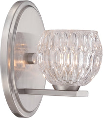 0-023715>5 inchw Odessa 1-Light Bath Satin Platinum