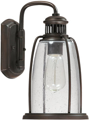 0-021654>13 inchh Harbour 1-Light Outdoor Wall Lantern Old Bronze