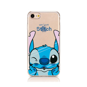 Cartoon Silicone Phone Case For iPhone (03)