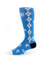 OTC Argyle Icon Sock Carolina Blue