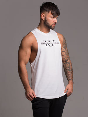 Cut Off Tee - White