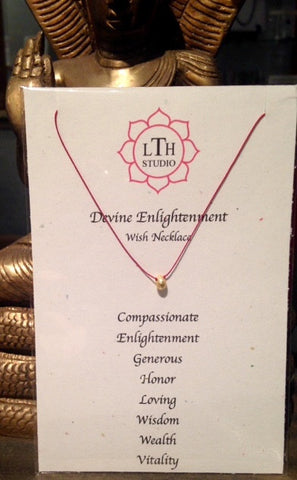 """Devine Enlightenment"" Wish Necklace"
