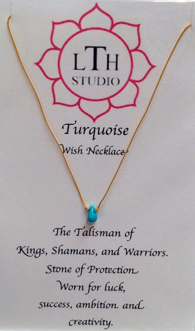 Turquoise Wish Necklace