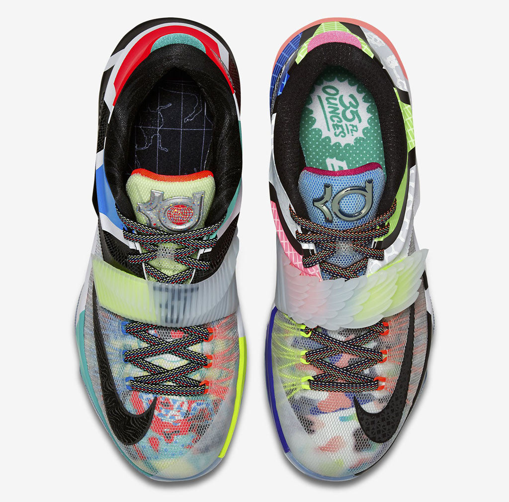 """What the KD 7"" Custom Full Print Socks Matching Shoes"