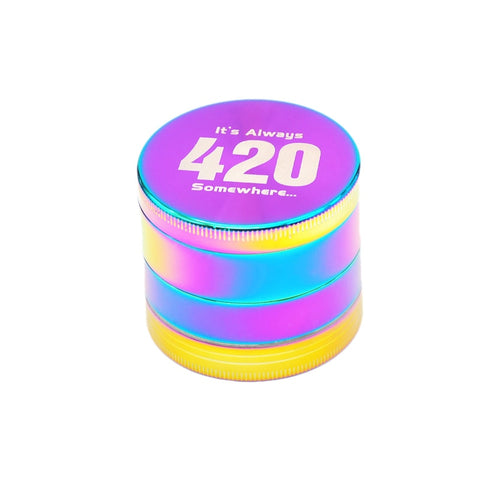 """It's Always 4:20 Somewhere"" Grinder"