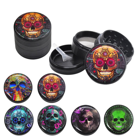 4-Layer Sugar Skull Grinder