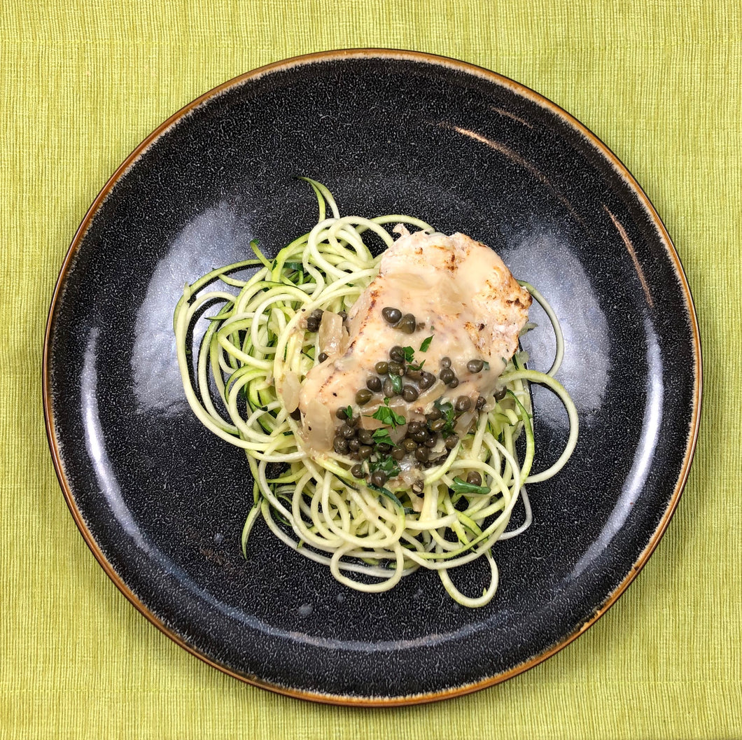 Pick Your Side: Chicken Piccata