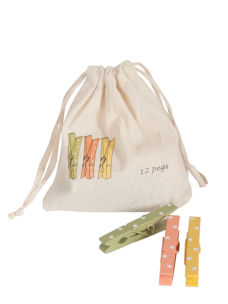Maileg Spring Pegs in a Bag