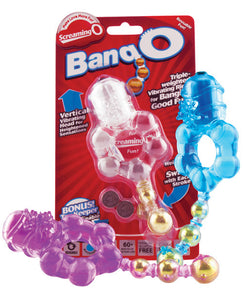 Bang O Vibrating Pleasure Ring (asst Colors) Ea