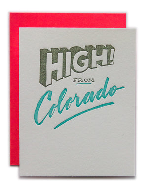 High! from Colorado