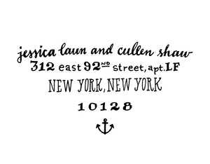 Anchor Return Address Rubber Stamp