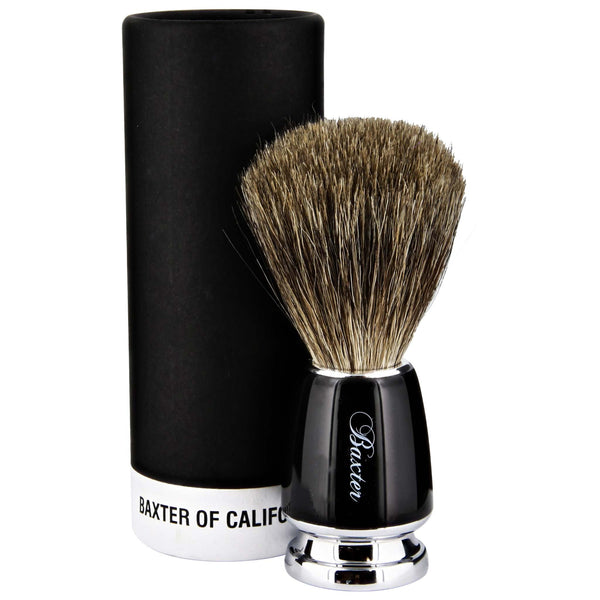 shaving heaven with this badger shave brush
