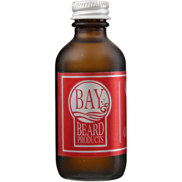 Bay Beard Oil Outdoorsman Back Label