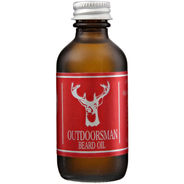Bay Beard Oil Outdoorsman Front Label
