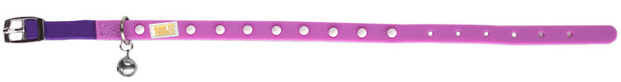 Spike Purple Cat and Kitten Collar From - gummipets
