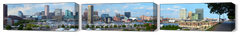 Baltimore Harbor Far View Full 3pc Set - JWB Art Unlimited