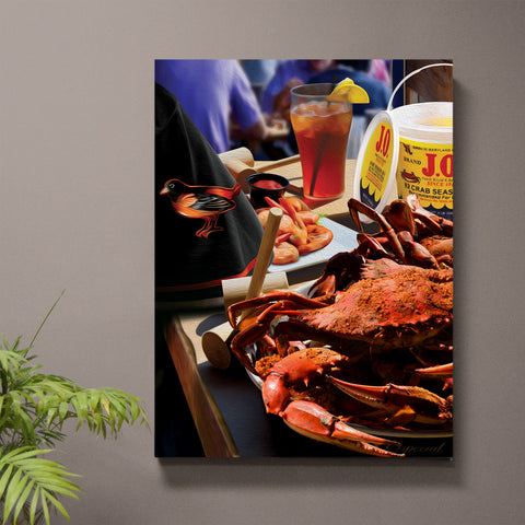 Hanover Street Crab Print or Canvas feat. J.O. Spice