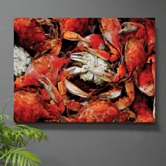 Jewel of the Chesapeake Crab Wall Art - JWB Art Unlimited
