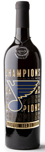STL Blues 2019 Champions Gold Bubbly 3 Pack