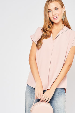 Cuff and Collar Top