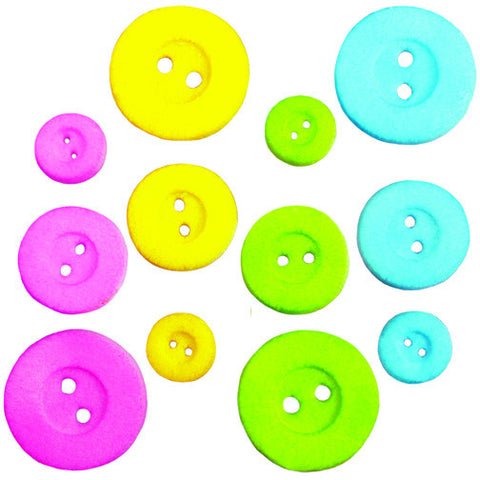 Baby Button Sugar Pieces
