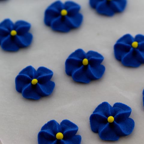 Blue Drop Flowers