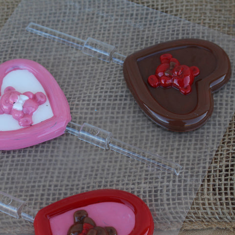 Bear Heart Chocolate Mold