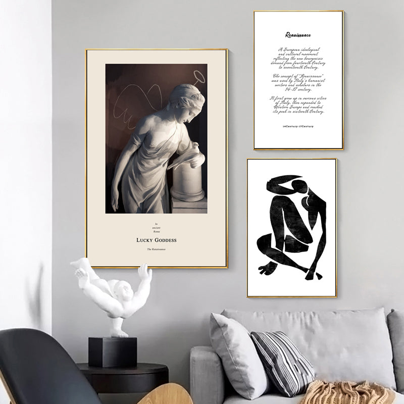 Abstract Vintage Roman Renaissance Wall Art Fine Art Canvas Prints Nordic Gallery Wall Pictures For Living Room Bedroom Home Decor