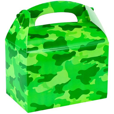 Camo Party Box (Pack of 6)