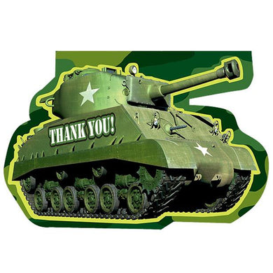 Tank Thank You Card