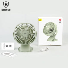 Industrypurchase Mini USB Rechargeable Air Cooling Fan