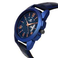 Sunday Sale Espoir Analogue Day And Date Blue Dial Boy's And Men's Watch- CheckBlueRay0507