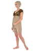 Indulgence Short Sleeved Pyjamas - Mink
