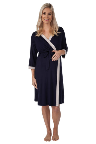Vogue maternity breastfeeding dressing gown