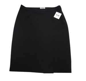 A-Line Skirt With Front Side Slit