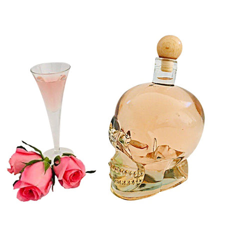 700ML Skull- Rose Liqueur - Flaschengeist (Aust) Pty Ltd