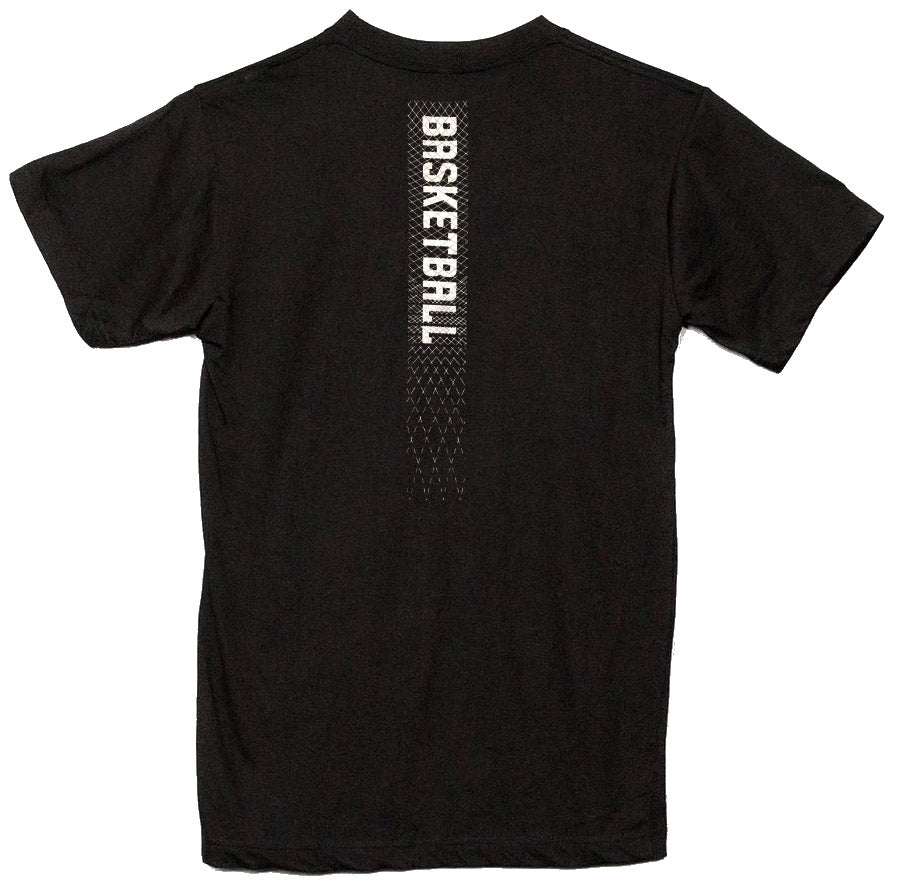 Youth Outerstuff Primary Reflective Basketball Tee