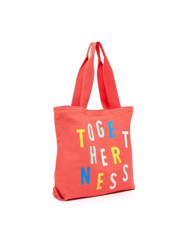 BAN.DO Togetherness Big Canvas Tote Accessories | Red| Ban.do Togetherness Big Canvas Tote