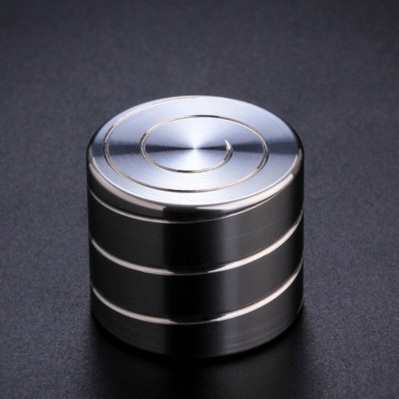 Vortecon Kinetic Desk Spinners Toys Aluminum Alloy Decompression Hypnosis Rotary Gyro Adult Fingertip Toy Children Toys Gifts