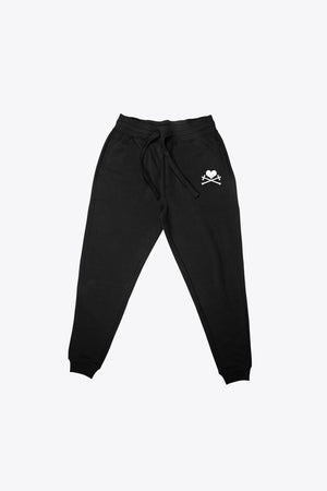 Heart and Crosses Sweatpant - Black/White