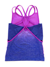 Load image into Gallery viewer, PINK & BLUE OMBRE TANK 2-PACK