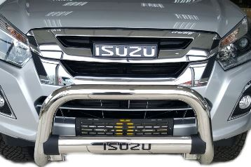 Isuzu Nudge Bar 2013+ - Saftrade