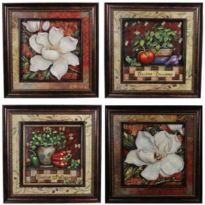 Spectacular Natural Wall Decor, Assorted Of 4