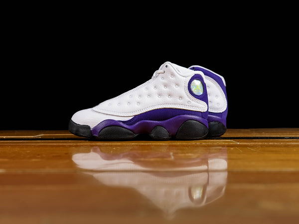 Kid's Air Jordan 13 Retro PS 'Lakers' [414575-105]