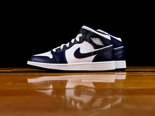Kid's Air Jordan 1 Mid GS [554725-174]