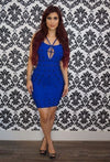 """TRISHA"" BANDAGE DRESS"