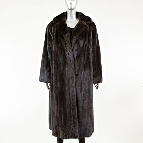 Ranch Male Mink Fur Coat - Size L